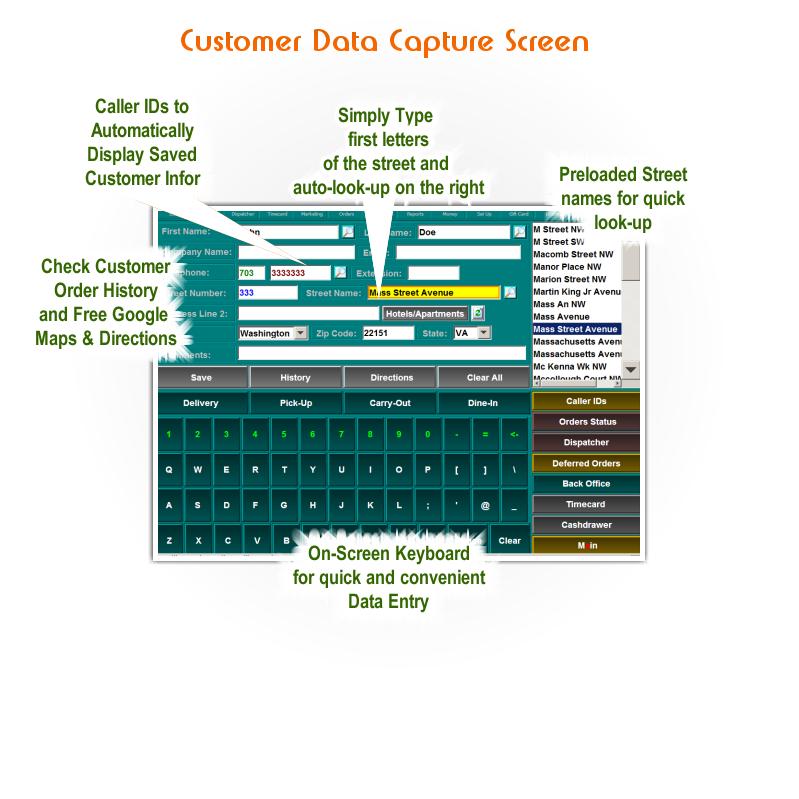 POS Customer Screen